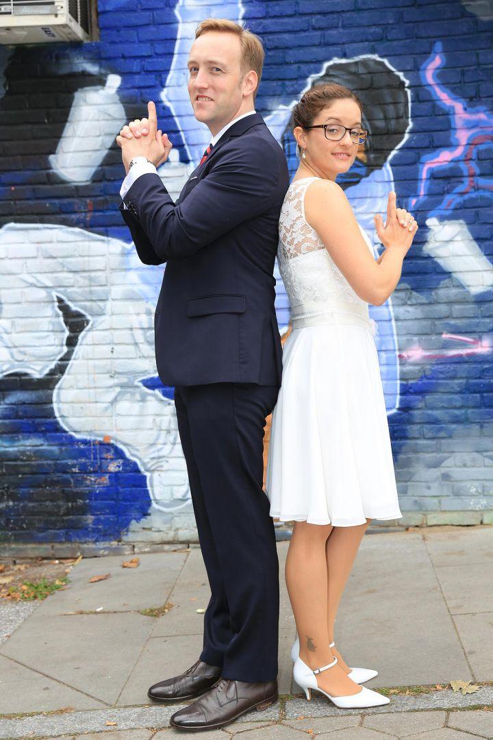Hochzeitsfotos im James Bond Stil von Peter Vogel, Hamburg