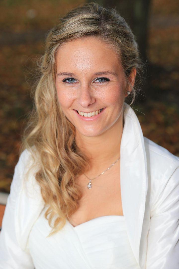 Portrait der Braut, Hochzeitsfotos von Peter Vogel, Hamburg
