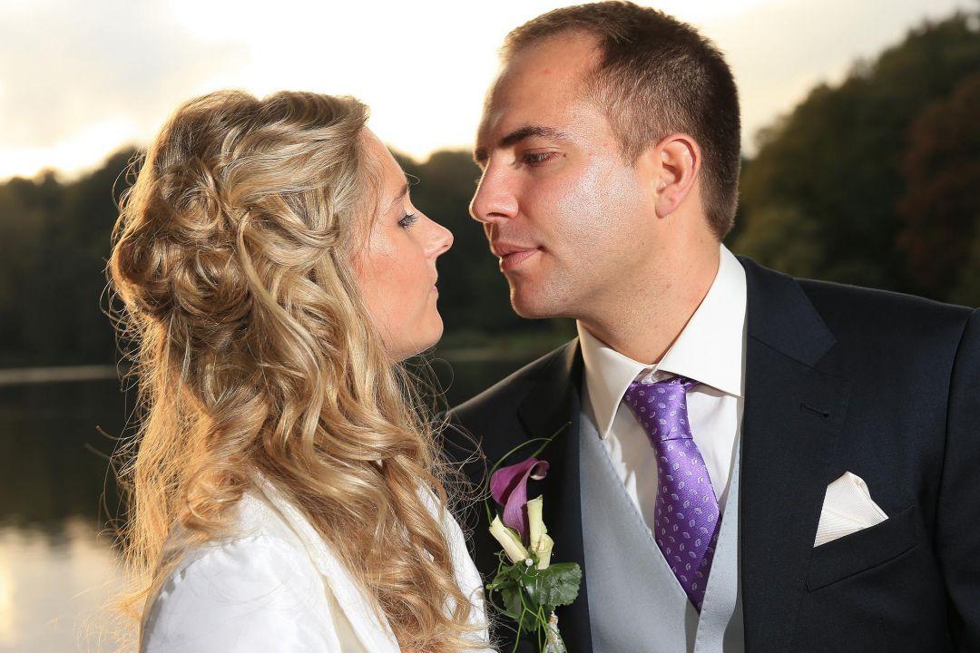 Brautpaarfoto, Hochzeitsfotos von Peter Vogel, Hamburg